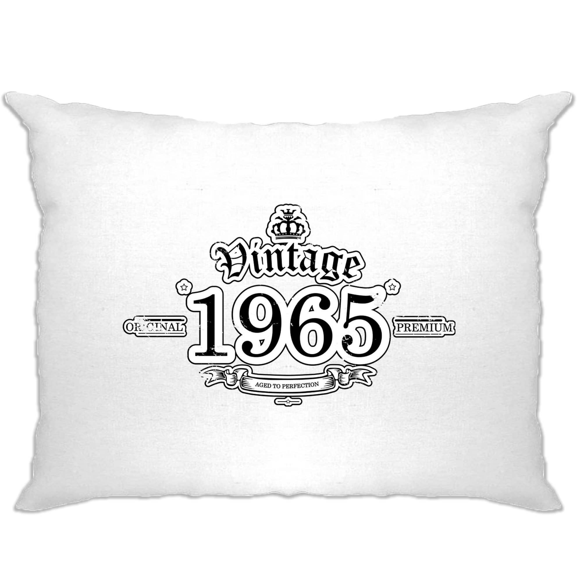 53rd Birthday Pillow Case Vintage 1965 Aged To Perfection
