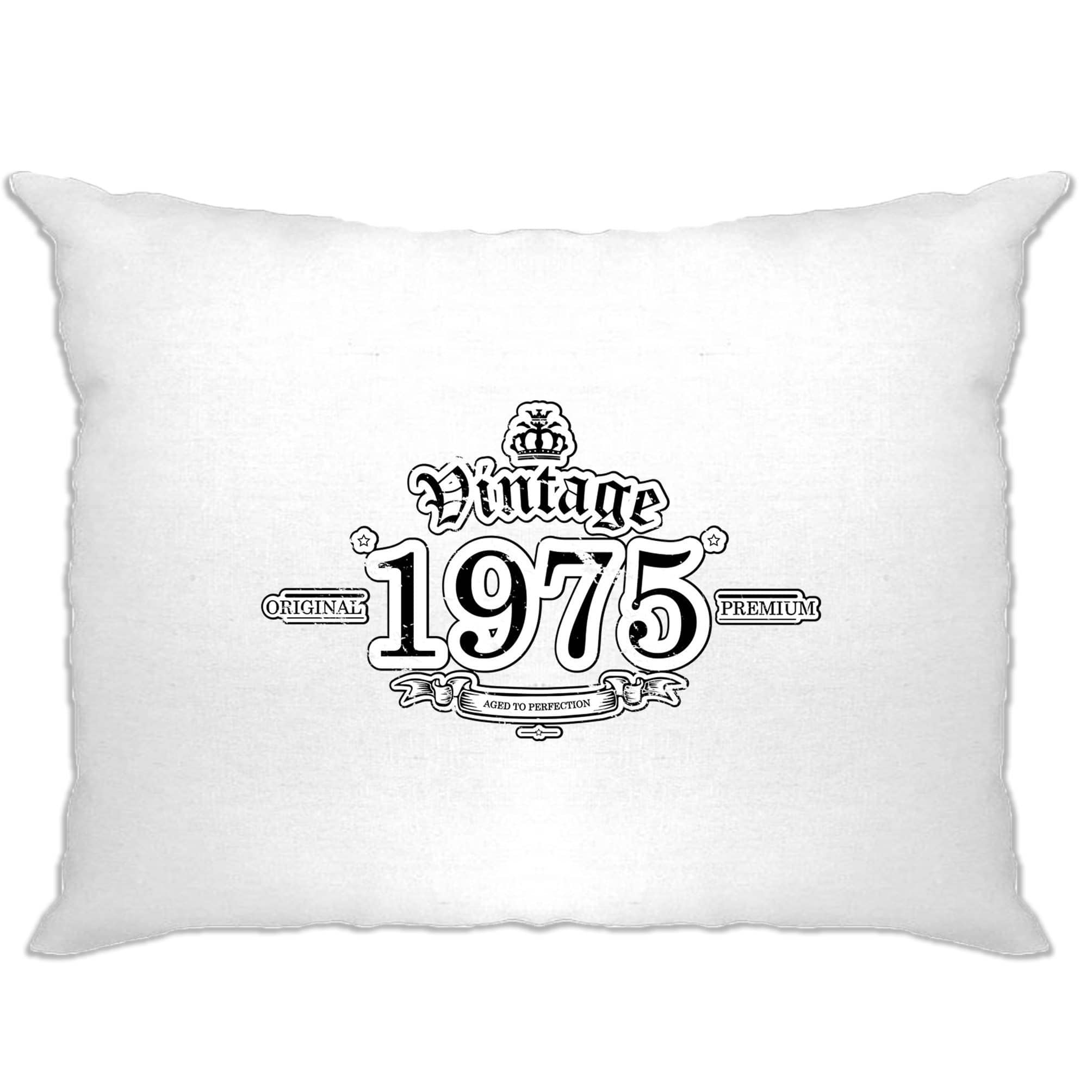 43rd Birthday Pillow Case Vintage 1975 Aged To Perfection