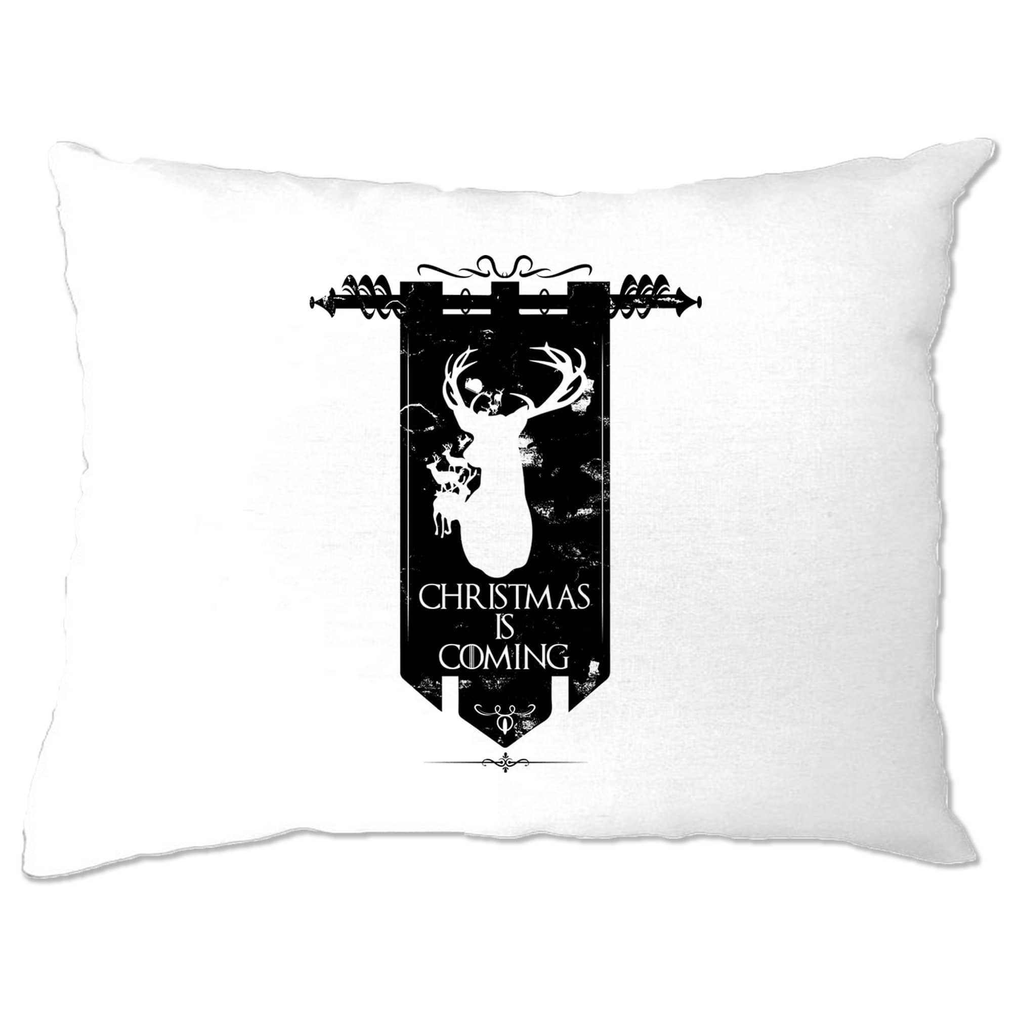 TV Parody Pillow Case Winter Christmas Is Coming