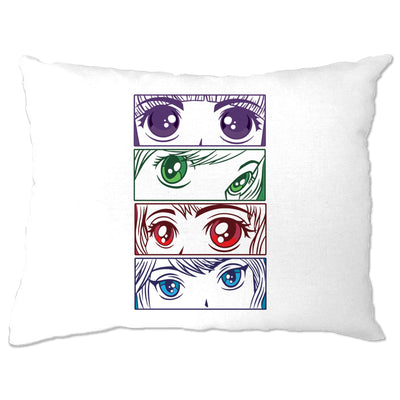 Anime Eyes Pillow Case