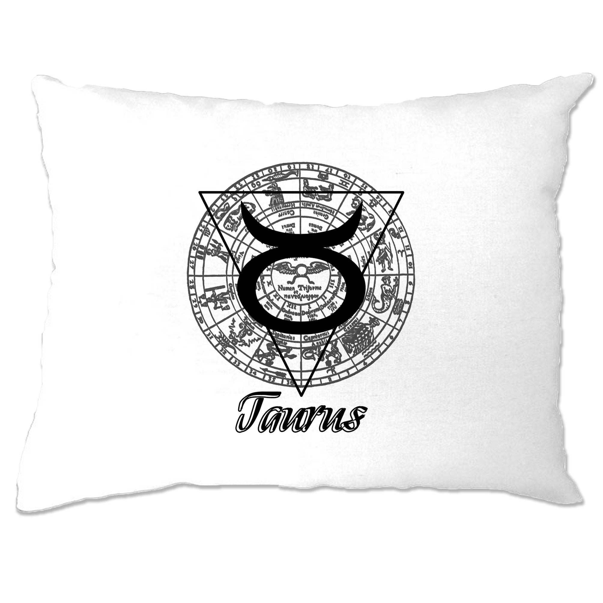 Horoscope Pillow Case Taurus Zodiac Star Sign Birthday