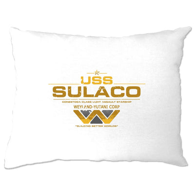 Alien Pillow Case USS Sulaco Building Better Worlds