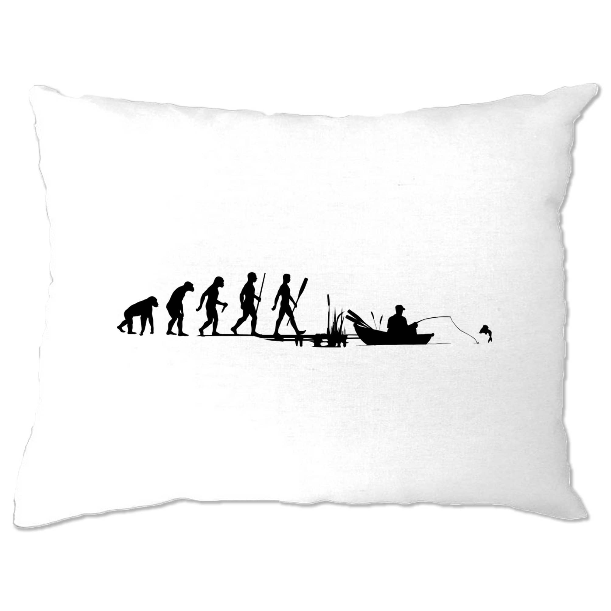 Fishing Pillow Case Evolution Of An Angler