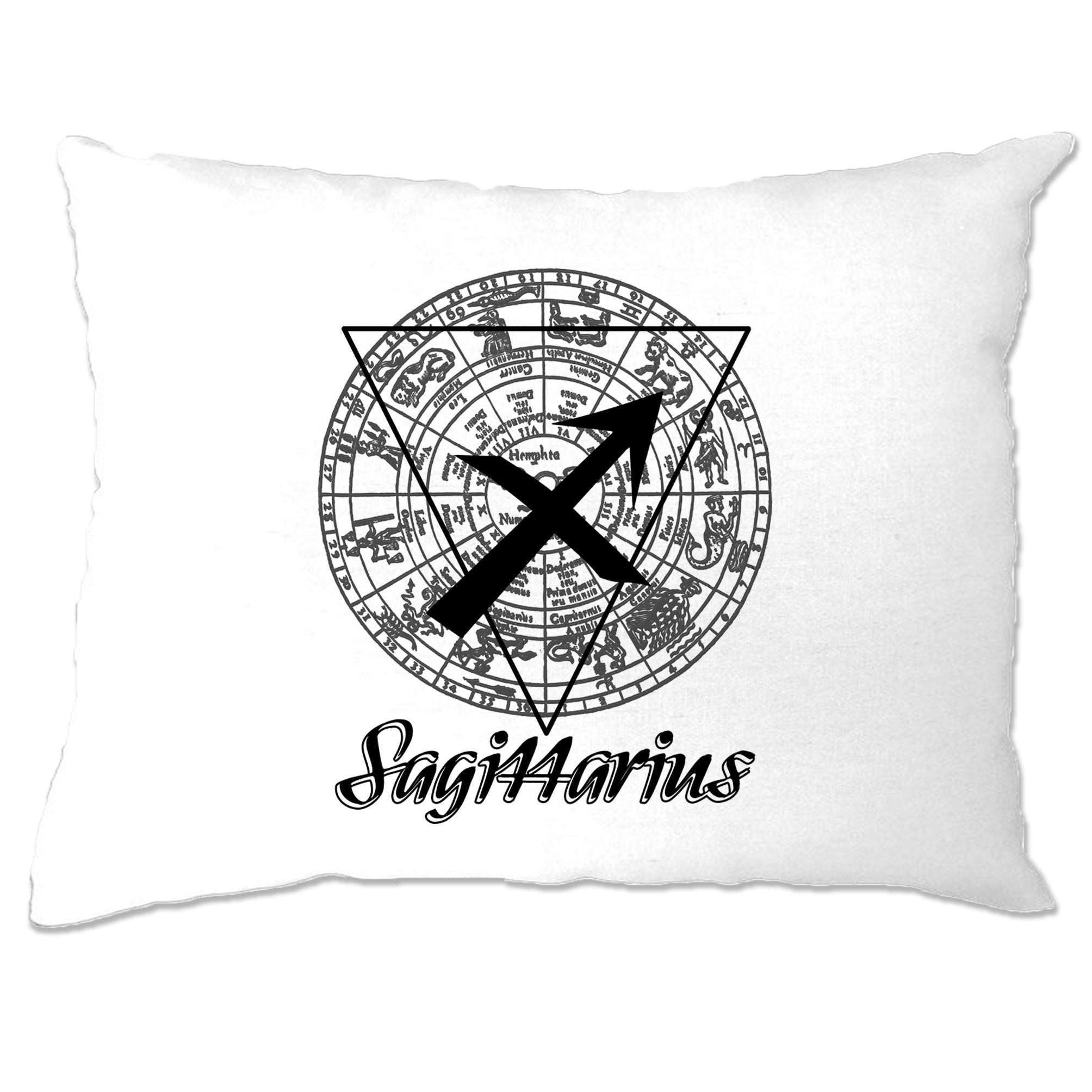 Horoscope Pillow Case Sagittarius Zodiac Sign Birthday