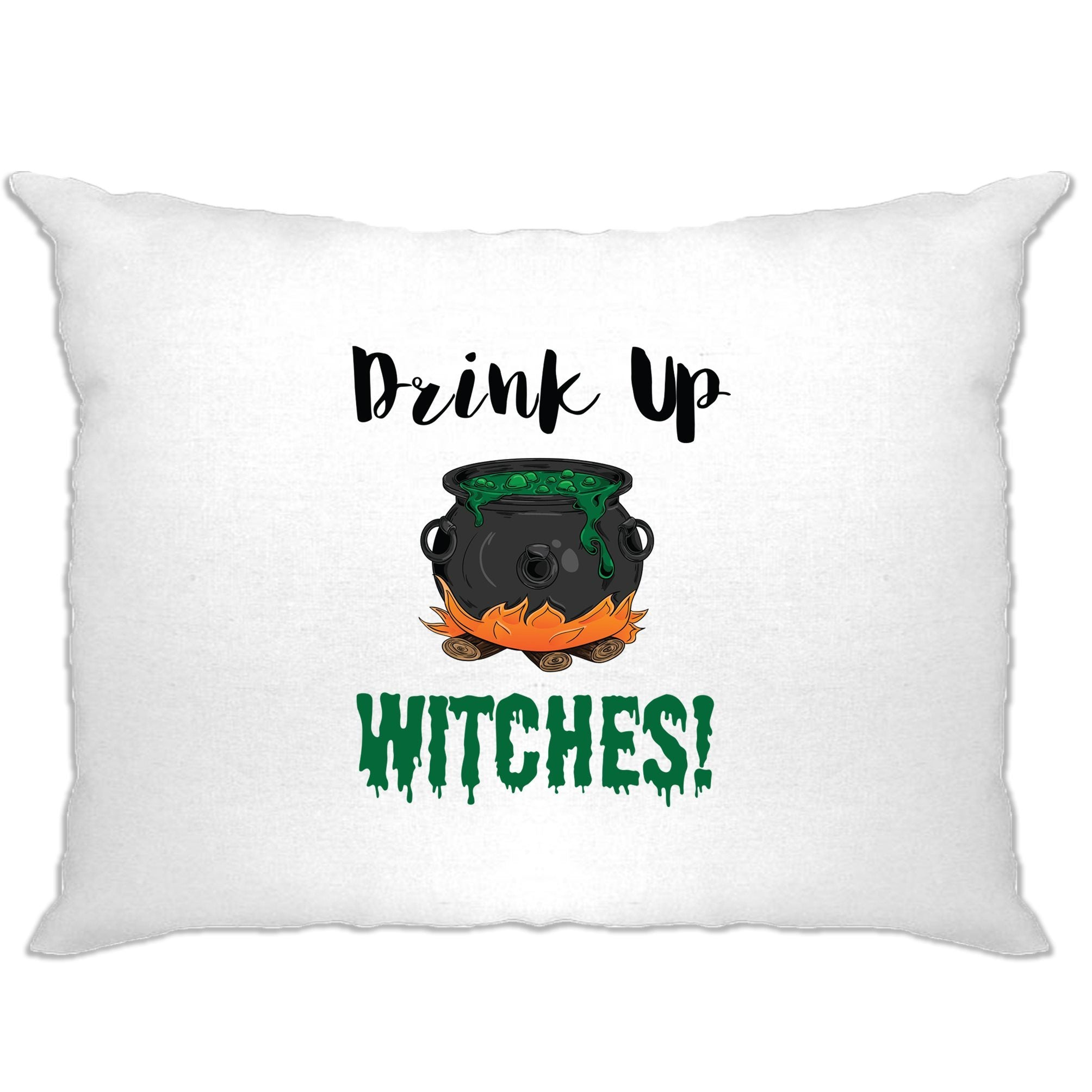 Halloween Pillow Case Drink Up, Witches Cauldron
