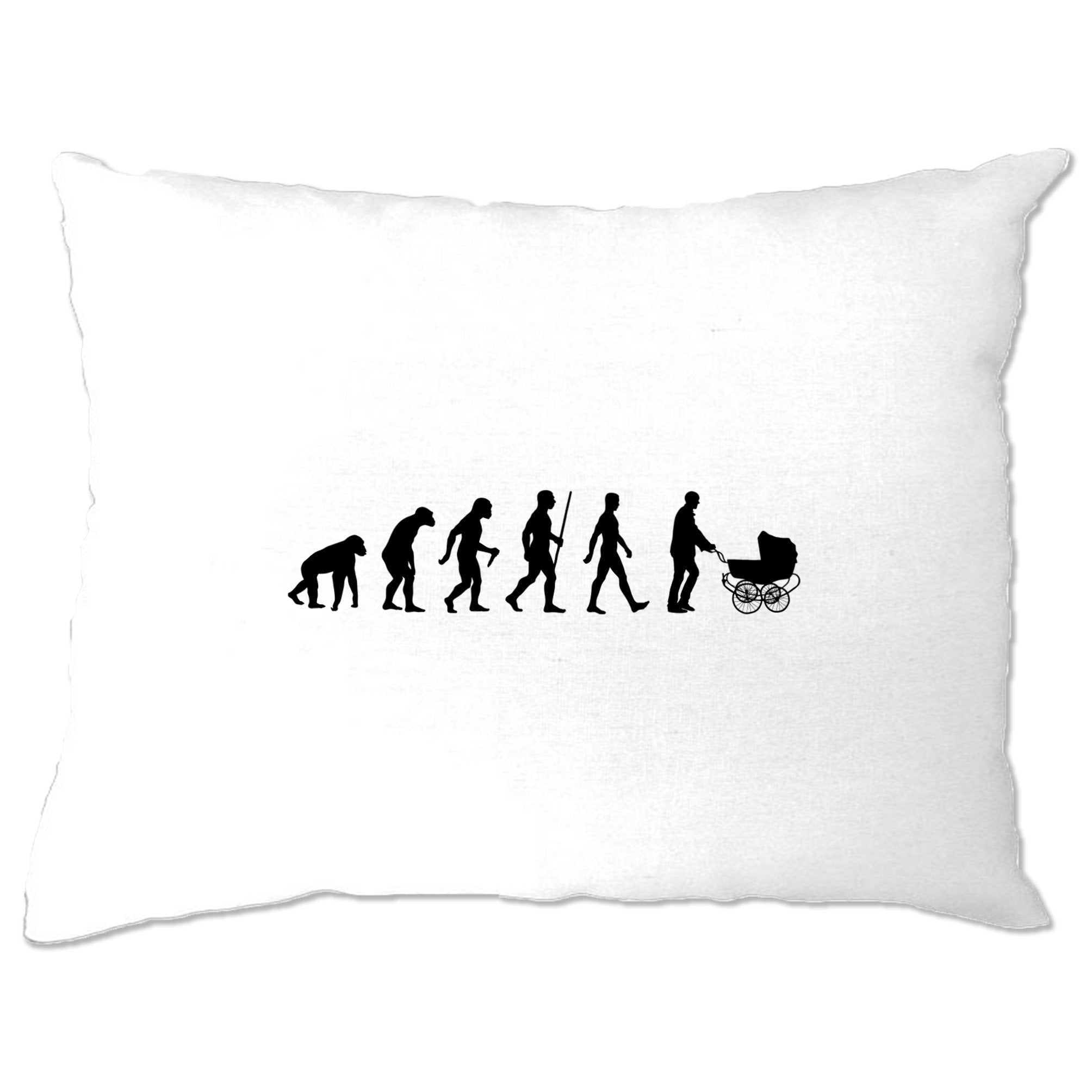 Parenthood Pillow Case Evolution Of A Family New Born Baby