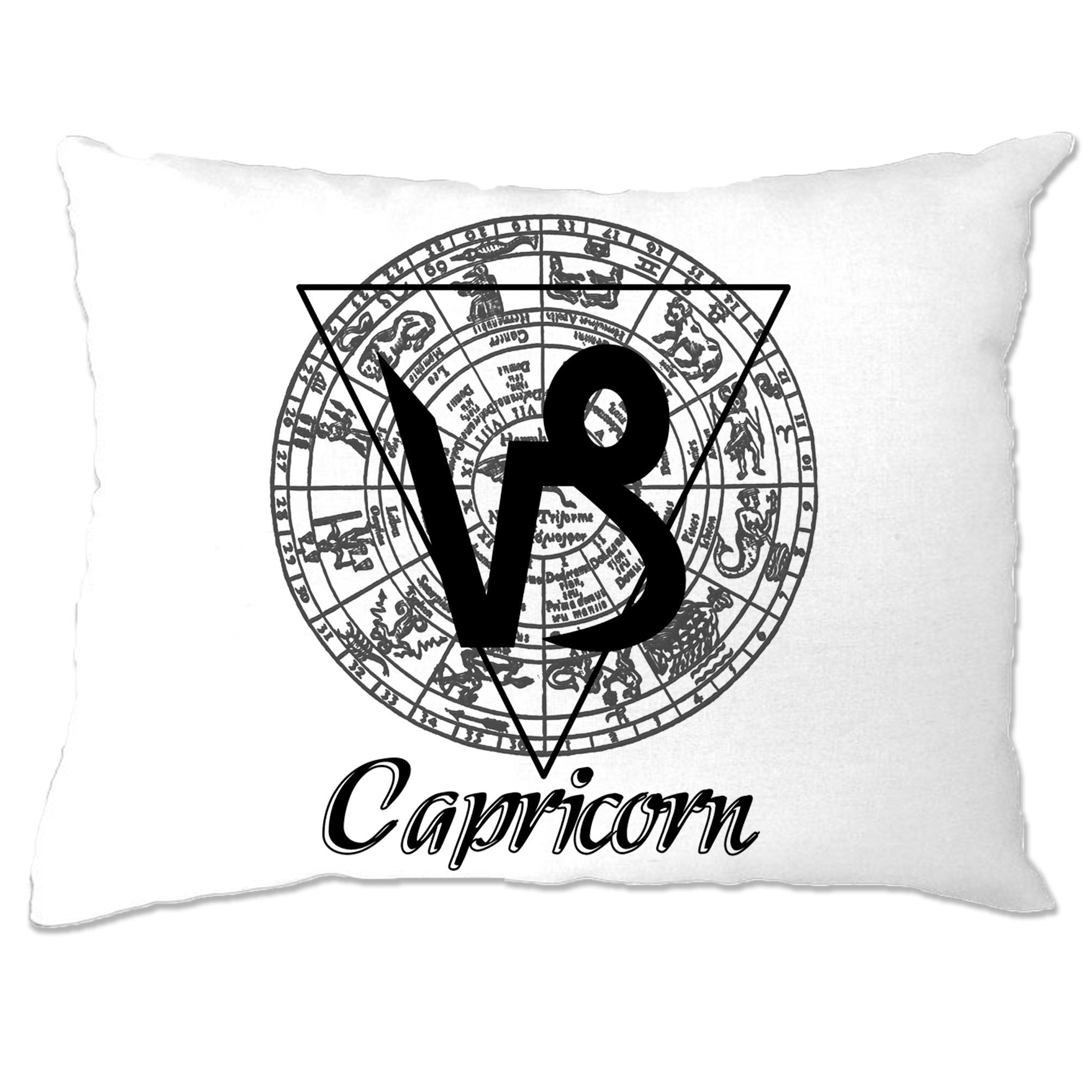 Horoscope Pillow Case Capricorn Zodiac Star Sign Birthday