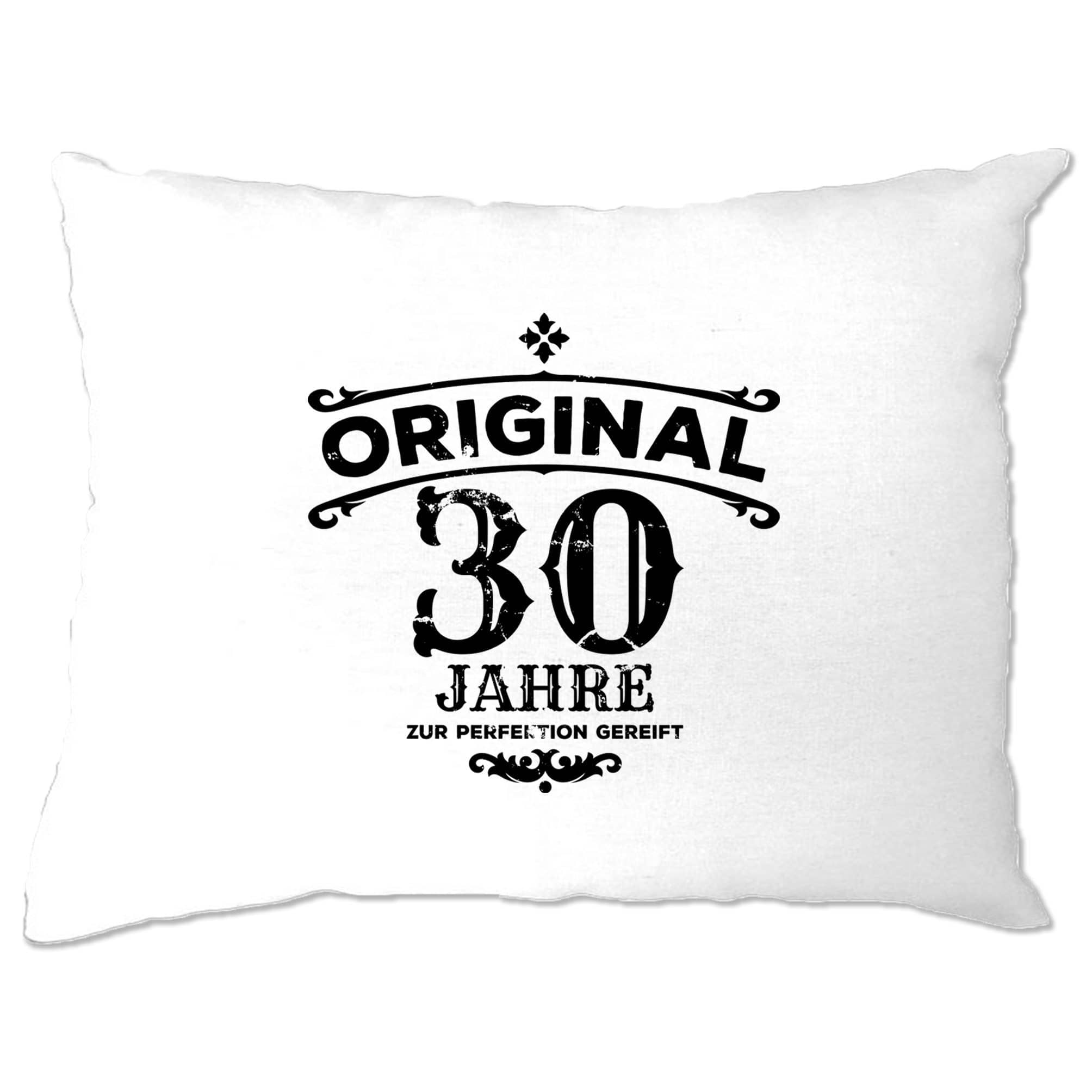 30th Birthday Pillow Case Original Aged 30 Thirty Years