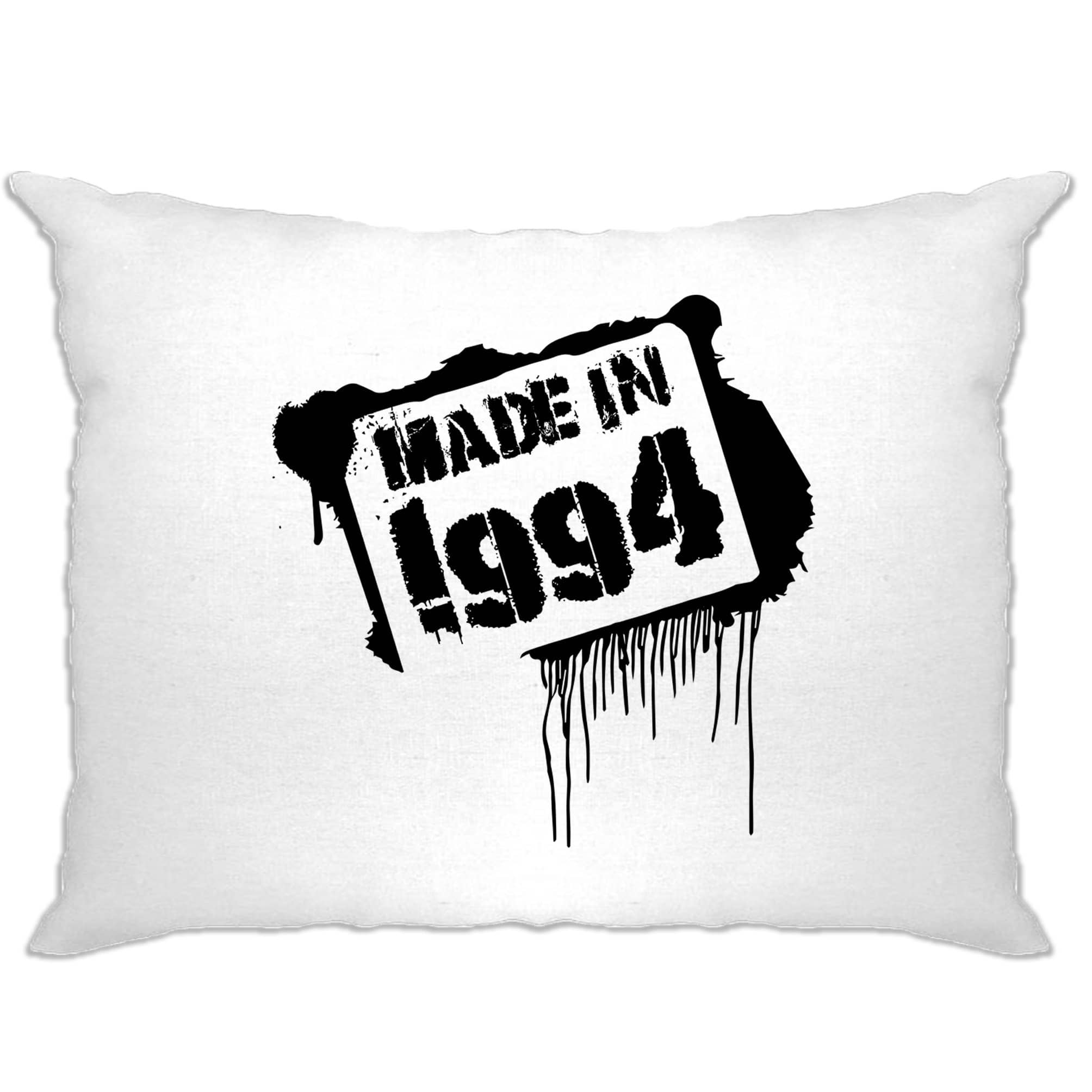 Birthday Pillow Case Made In 1994 Graffiti