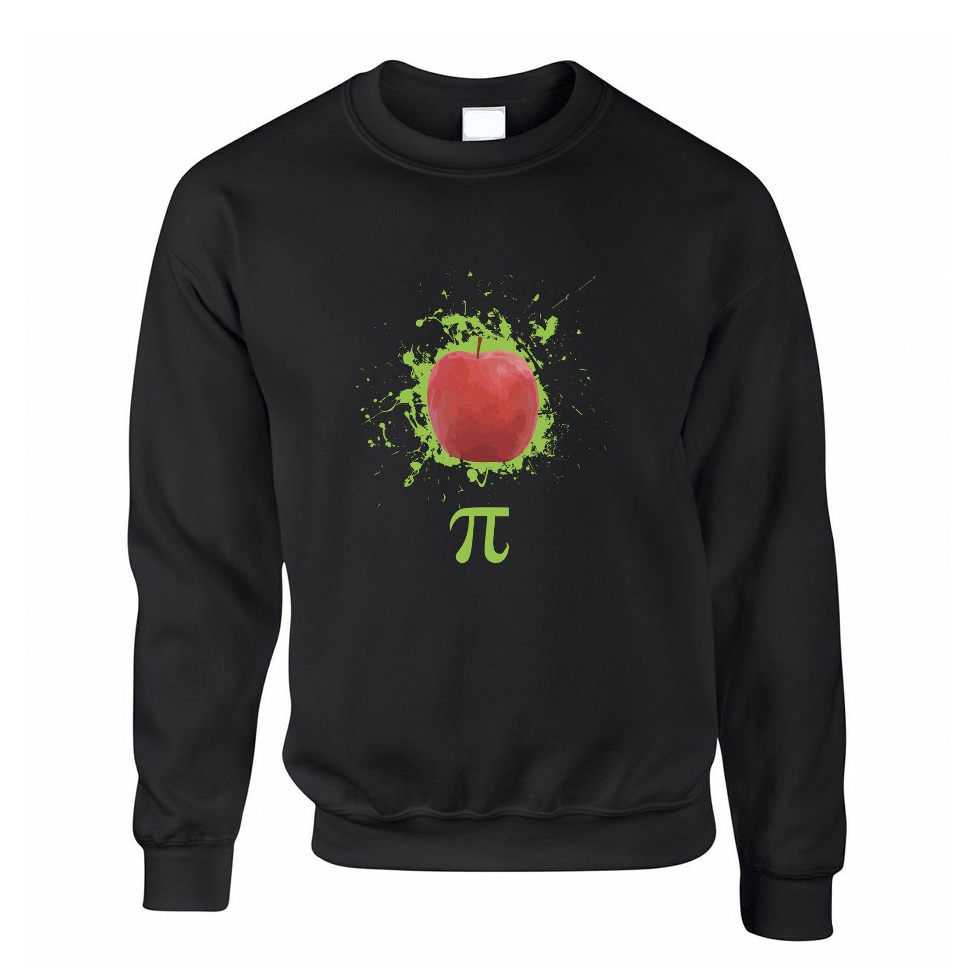 Novelty Jumper Apple Pie Pi Math Pun Joke Sweatshirt Sweater