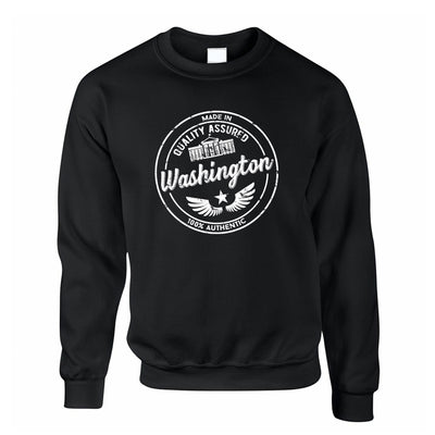 Hometown Pride Jumper Made in Washington Stamp Sweatshirt Sweater