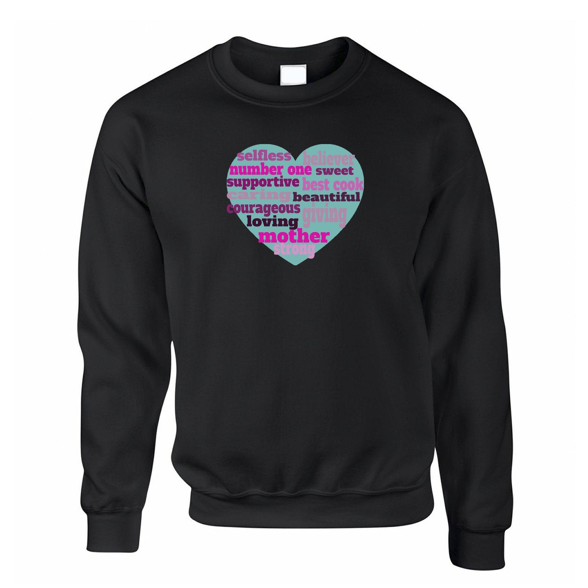 Mother's Day Jumper Heart Of Mum Mom Sweatshirt Sweater