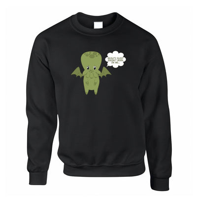 Cute Cthulhu Jumper Beauty Sleep Doesn't Work On Me Sweatshirt Sweater