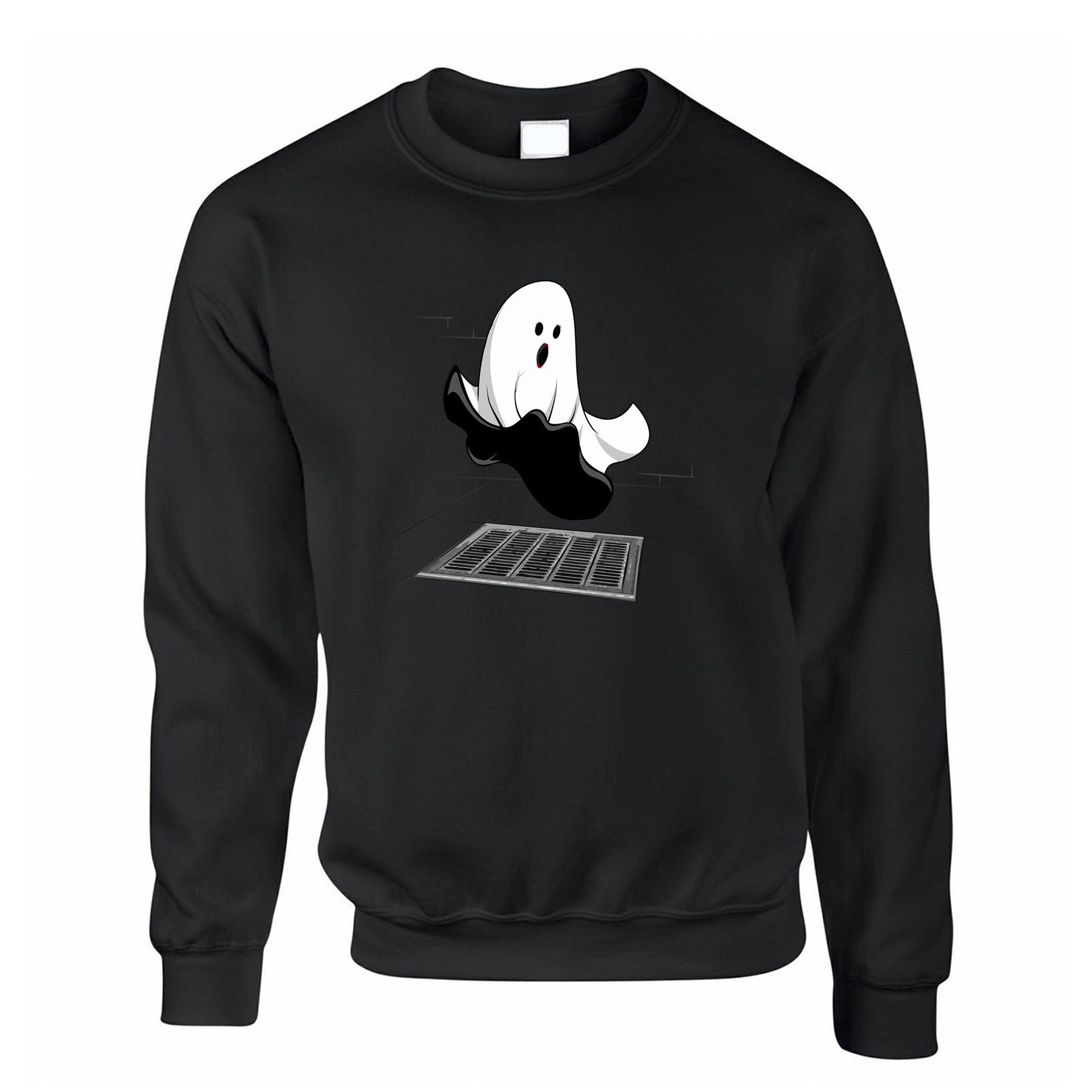 Halloween Jumper Iconic Monroe Ghost Parody Sweatshirt Sweater