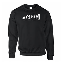 Sports Sweatshirt Jumper The Evolution Of Rock Climbing