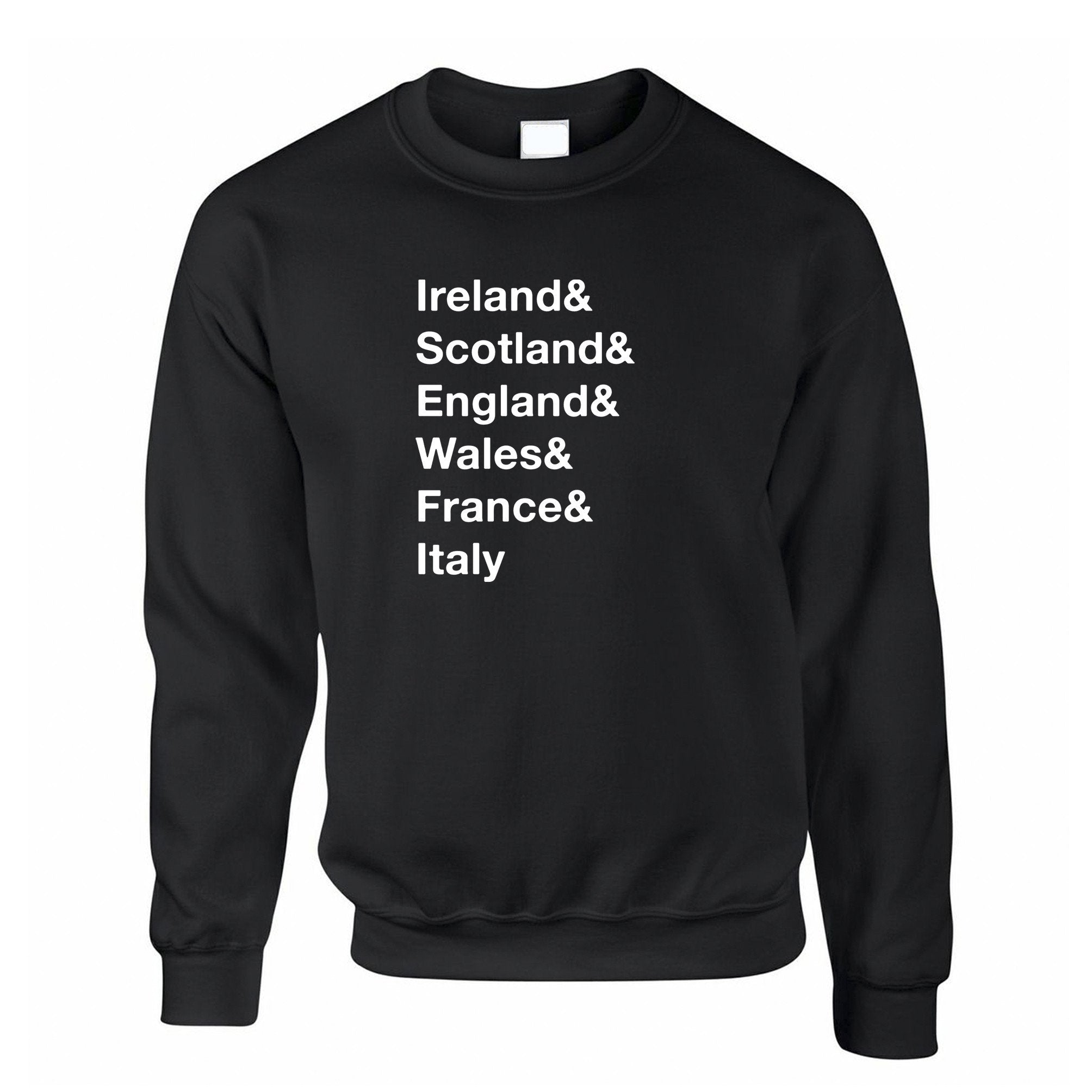 The Six Nations Jumper Ireland, Scotland, England Sweatshirt Sweater