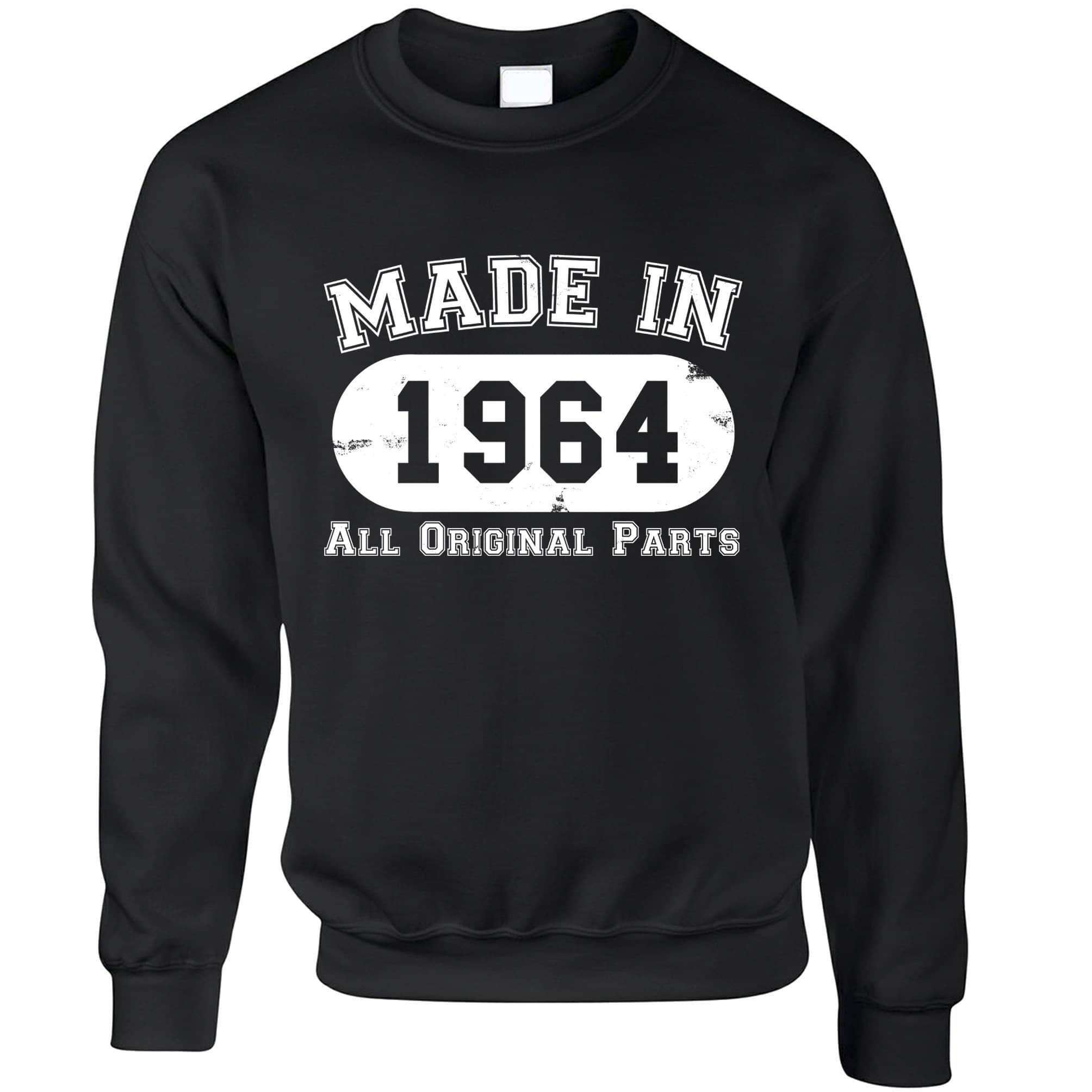 Made in 1964 All Original Parts Sweatshirt Jumper [Distressed]