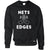 Table Tennis Jumper Nets and Edges High Five Sweatshirt Sweater