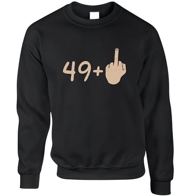 50th Birthday Jumper 49 plus 1 gesture Sweatshirt Sweater