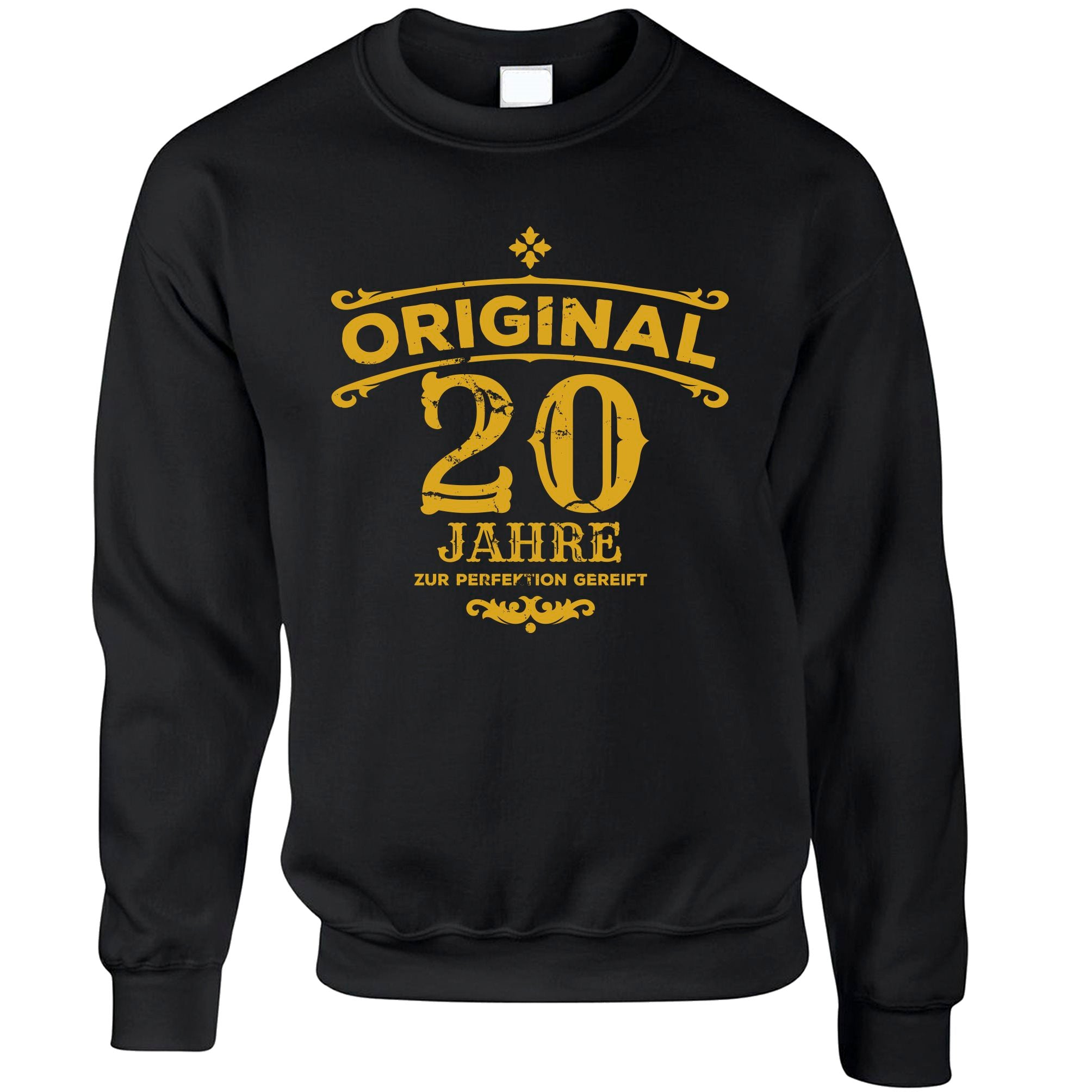 20th Birthday Jumper Original Aged 20 Twenty Years Sweatshirt Sweater