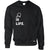 Table Tennis Is Life Jumper Bat & Ball Sweatshirt Sweater
