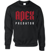 Pro Gaming Sweatshirt Apex Predator Slogan