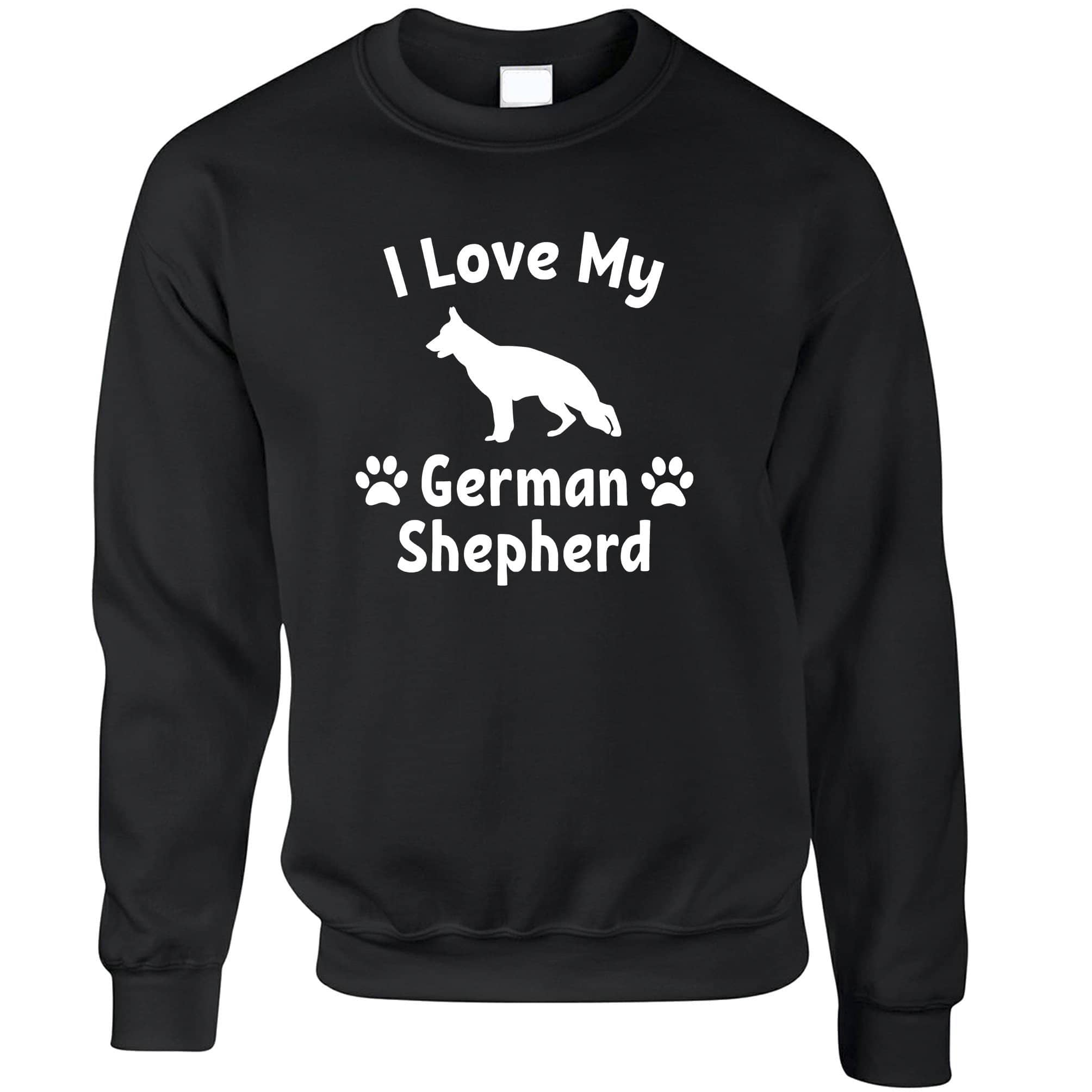 Dog Owner Jumper I Love My German Shepherd Sweatshirt Sweater
