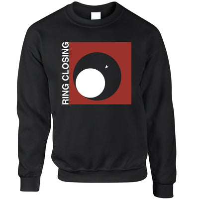 Novelty Gaming Jumper Ring Closing Design Sweatshirt Sweater