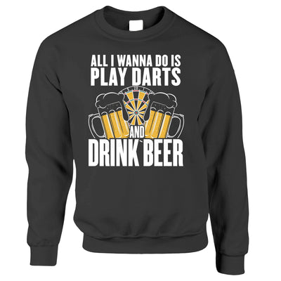 Play Darts and Drink Beer Jumper