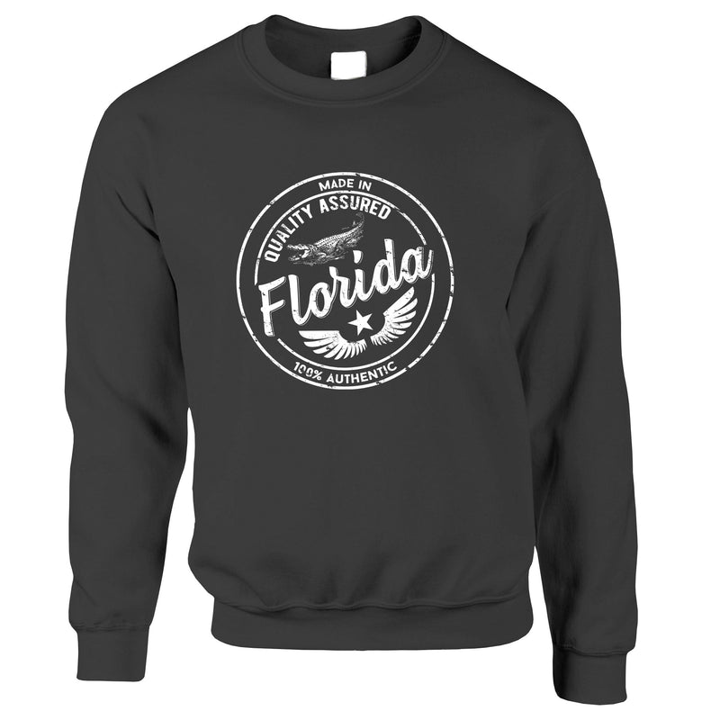 Hometown Pride Sweatshirt Made in Florida Stamp