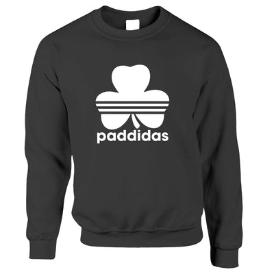 St Patricks Day Jumper Paddidas Paddy Irish Sport Sweatshirt Sweater