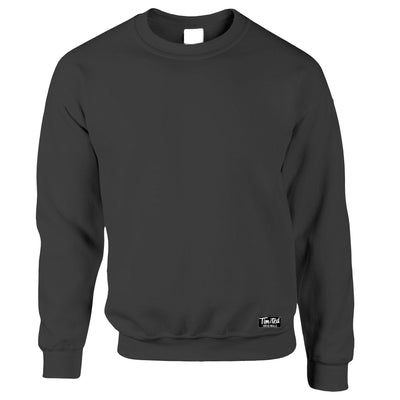 Mens Crew Neck Sweatshirt Jumper Tim And Ted Apparel