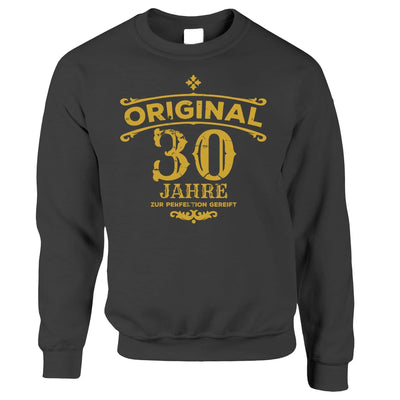 30th Birthday Jumper Original Aged 30 Thirty Years Sweatshirt Sweater