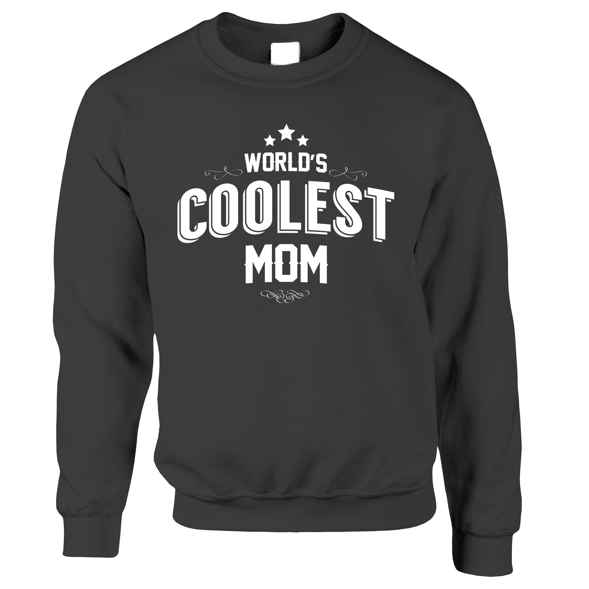 Novelty Jumper Worlds Coolest Mom Slogan Sweatshirt Sweater