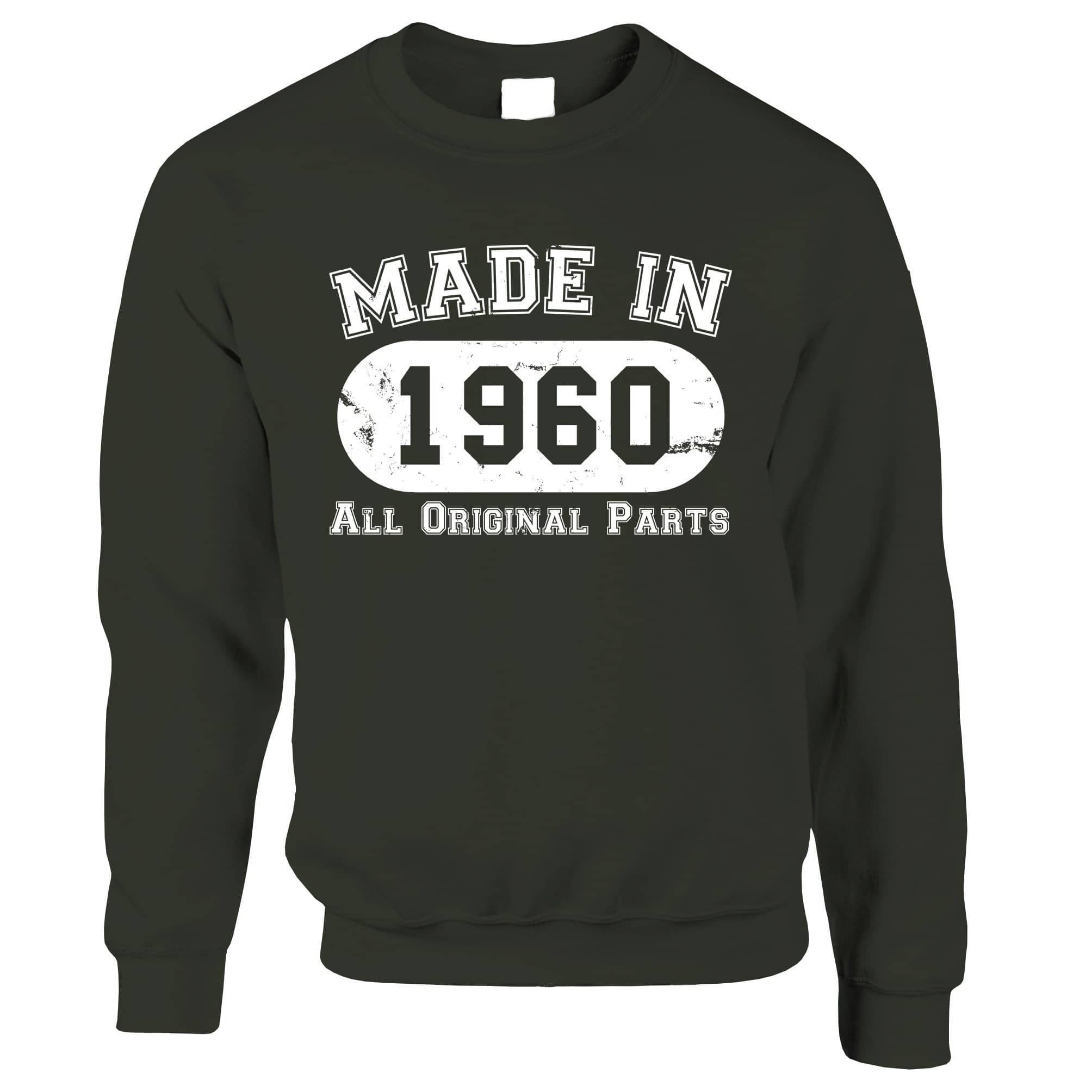 Made in 1960 All Original Parts Sweatshirt Jumper [Distressed]