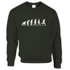 Football Fan Jumper The Evolution Of A Footballer Sweatshirt Sweater