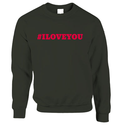 Romantic I Love You Jumpers for Couples