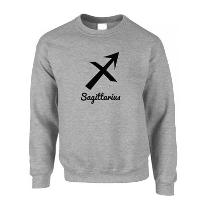 Horoscope Jumper Sagittarius Zodiac Sign Birthday Sweatshirt Sweater
