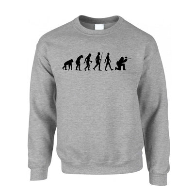 Sports Jumper The Evolution Of A Paintballer Sweatshirt Sweater