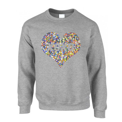 Sweetheart Jumper XOXO Love And Kisses Logo Sweatshirt Sweater