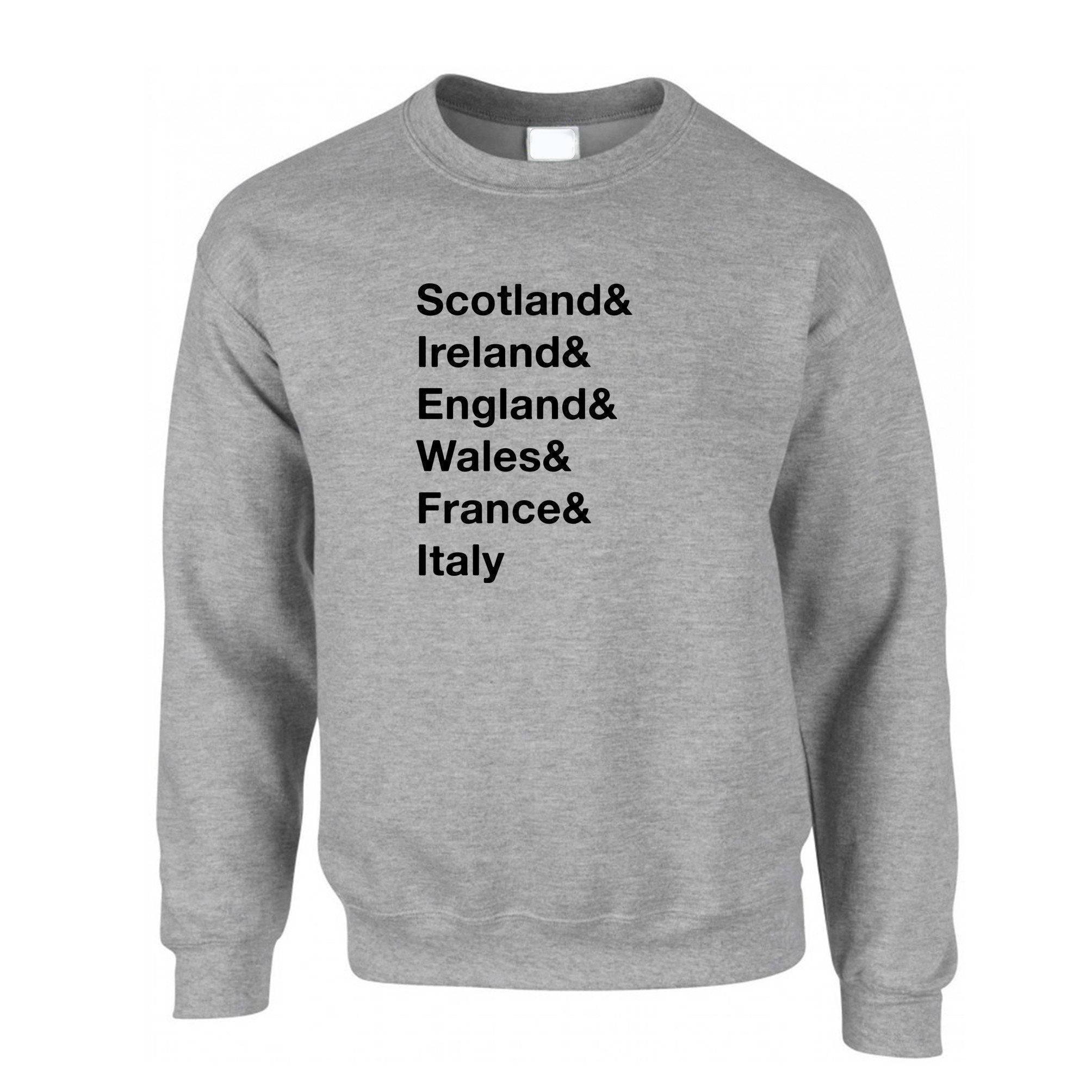 The Six Nations Jumper Scotland, Ireland, England Sweatshirt Sweater