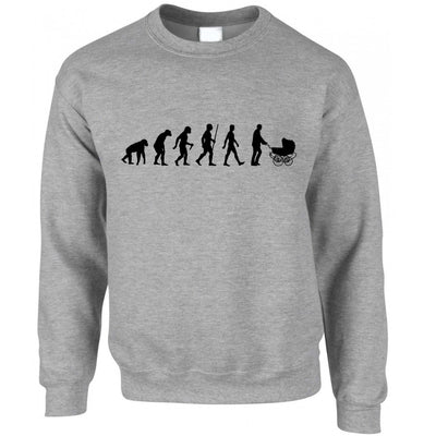 Parenthood Jumper Evolution Of A Family New Born Baby Sweatshirt