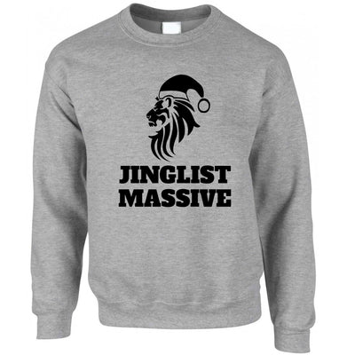 Christmas Jumper Xmas Santa's Elf Waving Sweatshirt Sweater