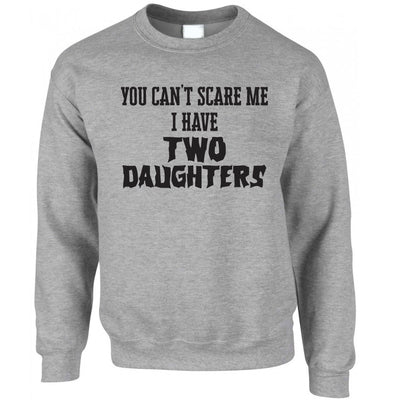 I Have Two Daughters Parenting Joke Jumper Sweatshirt Sweater
