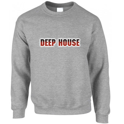 Music Genre Jumper Deep House Parody Logo Sweatshirt Sweater