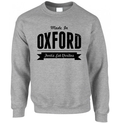 Hometown Pride Jumper Made in Oxford Banner Sweatshirt Sweater