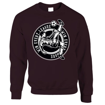 Football Jumper Win The League Motivation Sweatshirt Sweater