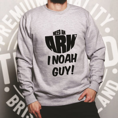 Novelty Jumper Need An Ark? I Noah Guy! Sweatshirt Sweater