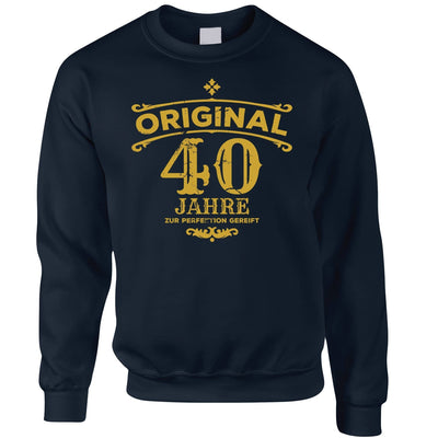 40th Birthday Jumper Original Aged Forty 40 Years Sweatshirt Sweater