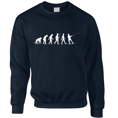 Watersports Jumper Evolution Of Kitesurfing Sea Surf Sweatshirt Sweater